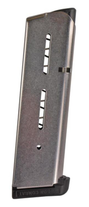 Wilson Combat 1911 Magazine 45 ACP 7 rd Stainless Finish