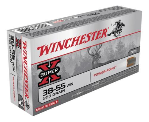 Winchester Super X 38-55 Win Soft Point 255gr, 20Box/10Case