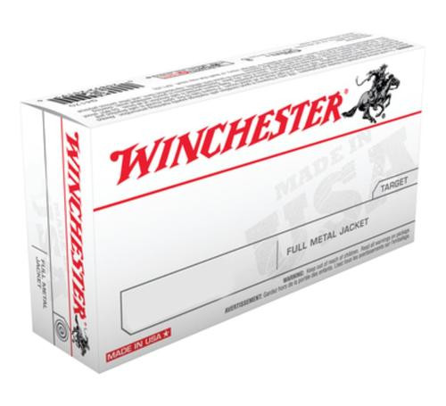 Winchester USA 45 ACP 230gr, Full Metal Jacket, 50rd Box