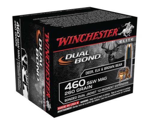Winchester Dual Bond .460 Smith & Wesson Magnum 260gr, Dual Bond