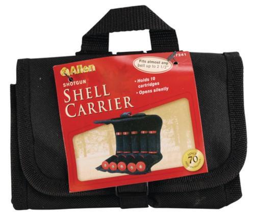 Allen Belt Shotgun Ammo Pouch Black Holds 10 Shotshells