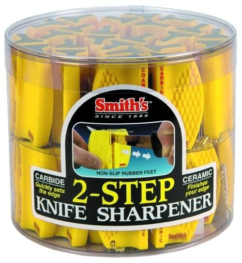 Smith 2 Step Knife Sharpener, Carbide