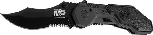 Smith & Wesson Knives MP Black Blade Serrated