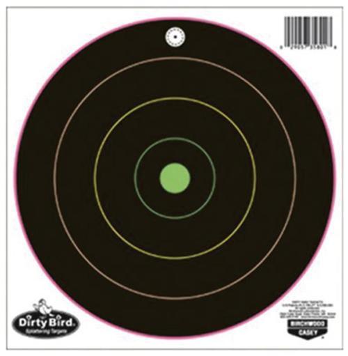Birchwood Casey Dirty Bird Multi-Color Splattering Targets, 12/Pack