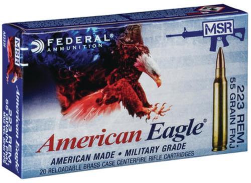 Federal American Eagle M1 Garand .30-06 Springfield 150gr, Full Metal Jacket 20rd Box