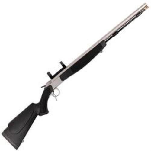 "CVA Optima v2 209 Magnum Series .50 Caliber 26"" Stainless Steel Fluted Barrel Dead-On Mount Black Stock"