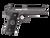 "Coonan MOT 10mm, 5"", Black Ionbond Stainless, Adj. Night Sights, Black Alum Grips, 2 Mags (Special Order)"