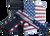 "Citadel M-1911 with Ammo Can 45 ACP, 5"" Barrel, Black G10 Grip American Flag, Cerakote Slide, 8rd"