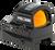 Holosun Technologies 507C-X2, Red Dot, 32 MOA Ring & 2 MOA Dot, Black Color, Side Battery, Solar Failsafe