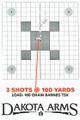 "Dakota Arms Model 97 Long Range SS Hunter 300 Win Mag, 24"" Barrel, Falcon Ceramic Coating W/Scope#8"