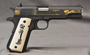 Springfield 1911-A1 Battlefield Cross Limited Edition 45 ACP Ivory-style Grips Plus extra Springfiled Grips#2