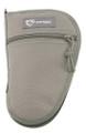 """Drago Gear Pistol Case SEAL Gray 10.5"""" Transport Bag 600D Polyester"""