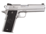 """Coonan Classic 357 Mag, 5"""", Satin Stainless, Fixed Black Sights, Black Alum Grips, 1 Mag (Special Order)"""