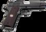 "Wilson Combat 1911 Professional Elite 45 ACP Single 4"" Barrel Black Cherry G10 Grip Black Slide"