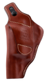 Hunter Pro-Hide High Ride S&W Governor, Leather Brown