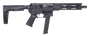 "Diamondback DB9 9mm, 10"", Black Tailhook Mod2 Brace, Black"