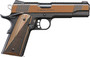 "Kimber Stainless Raptor II .45 ACP, 5"" Barrel, KimPro Black/Tru-Tan, Black/Tan Grips, 8rd"