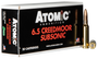 Atomic Rifle Subsonic  6.5 Creedmoor 130gr, Sierra HPBT, 20rd Box