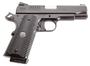 "Wilson Combat ACP Commander SAO 9mm 4.25"", 10+1, Black Armor-Tuff, G10"