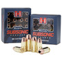 Hornady Subsonic 40 S&W 180gr, XTP Hollow Point, 20rd Box
