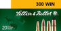 Sellier & Bellot Rifle 300 Win Mag 180gr, Plastic Tip Special, 20rd Box