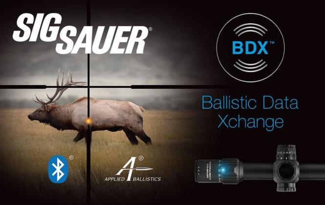 Sig Sauer BDX System - SHOT Show 2019