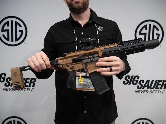 New for 2019 - The Sig Sauer MCX Rattler Canebrake - Impact Guns