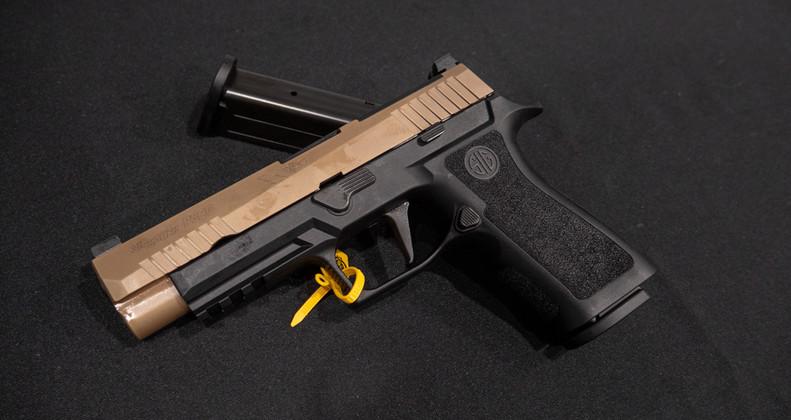 New for 2019, The Sig Sauer P320 X-VTAC - Impact Guns