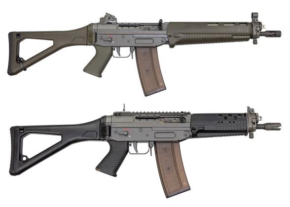 Peering Into The Vault: Swiss Made SIG SG 551-2 SWAT/552-2 Commando