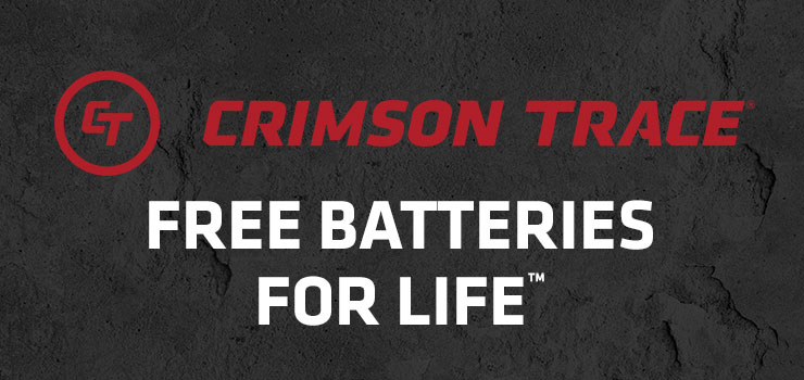 Crimson Trace Free Batteries For Life