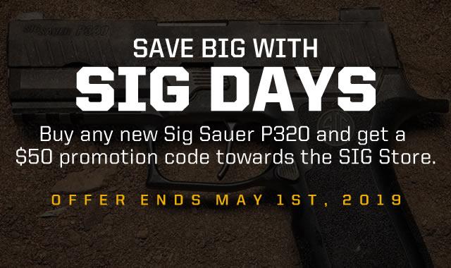 Sig Days P320 Rebate