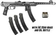 IMG PPS43-C Polish Pistol 7.62X25mm, 4x35rd Mags