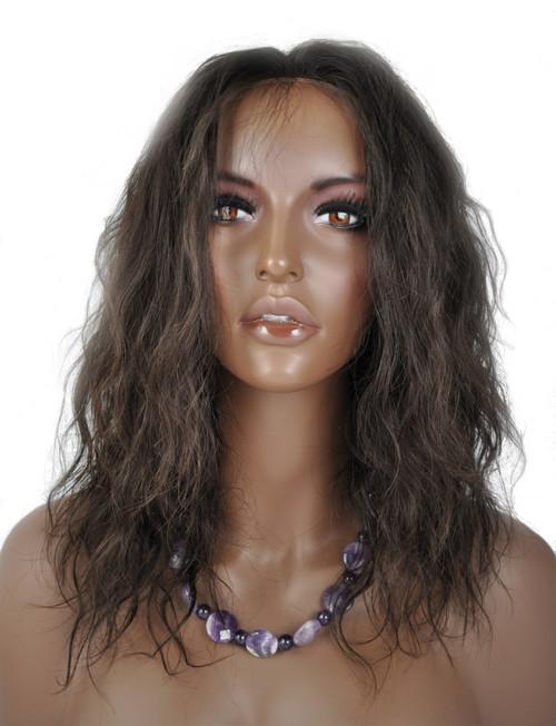 Lace Front Wig - Brazilian Virgin Hair
