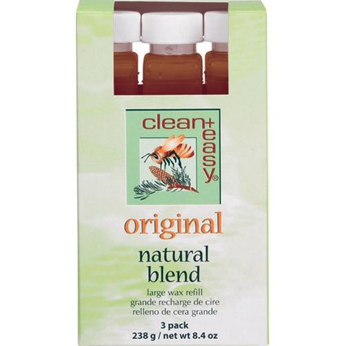Cln/Easy Large Leg Original Wax Refills - 3 Pack