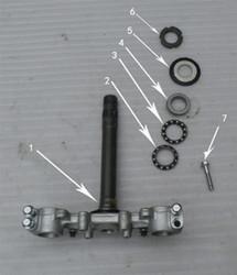 Hawk 250 Steering stem