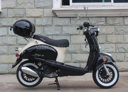 Amigo Magari-50 FA 49cc Moped 4 Stroke Single Cylinder CA Approved (No Front ABS)