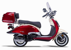 Amigo Bello Classic-50 (ZN50QT-G) 49cc Moped 4 Stroke Single Cylinder CA Approved