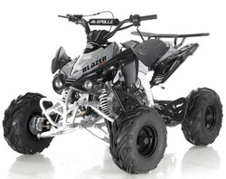 "Apollo BLAZER 7 125cc ATV, 7"" TIRE, Single Cylinder, Air Cooled, 4 Stroke - Fully Assembled and Tested"