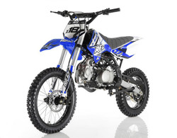 APOLLO DB-X18 125cc RFZ 125cc RACING Dirt Bike, 4 stroke, Single Cylinder - Fully Assembled and Tested