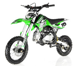 APOLLO DB-X15 125cc Manual Clutch Dirt Bike, 4 Stroke, Single Cylinder