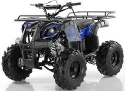 Apollo Focus 125cc ATV, single cylinder, air cooled, 4 stroke 1speed+reverse