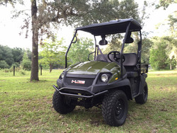 New Linhai Big Horn 200Vx 4 Stroke Overhead Cam, Air/Oil Cooled Engine Side By Side UTV