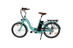 Bintelli Journey Electric Bicycle, New Step through E-Bike