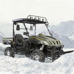 BMS STALLION 600 RX EFI UTV, 594CC / 37 HP, EFI – WATER AND OIL COOLED ENGINE, SINGLE CYLINDER WITH OVERSIZED PISTONS