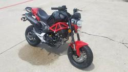 Brand New Boom 125cc High End Bike, 4-Speed Manual Clutch