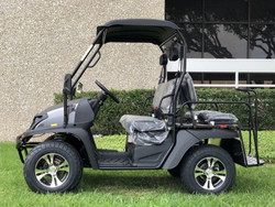 Carbon Fiber - Fully Loaded Cazador OUTFITTER 200 Golf Cart 4 Seater UTV