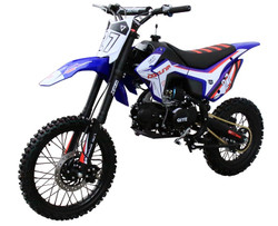 Coolster M-125 125cc Dirt Bike, Single Cylinder, 4-Stroke