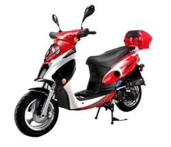 Vitacci BAHAMA 50cc (QT-6) Scooter, 4 Stroke, Air-Forced Cool, Single Cylinder - Fully Assembled and Tested
