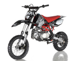 New Arrival Apollo DB-X14 125cc Dirt Bike, Semi Auto, Double Spar Frame - Fully Assembled and Tested