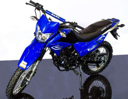 Hawk 250CC Dirt Bike Dual Sports Enduro Street Legal
